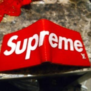 LV Supreme Wallet (Men's)